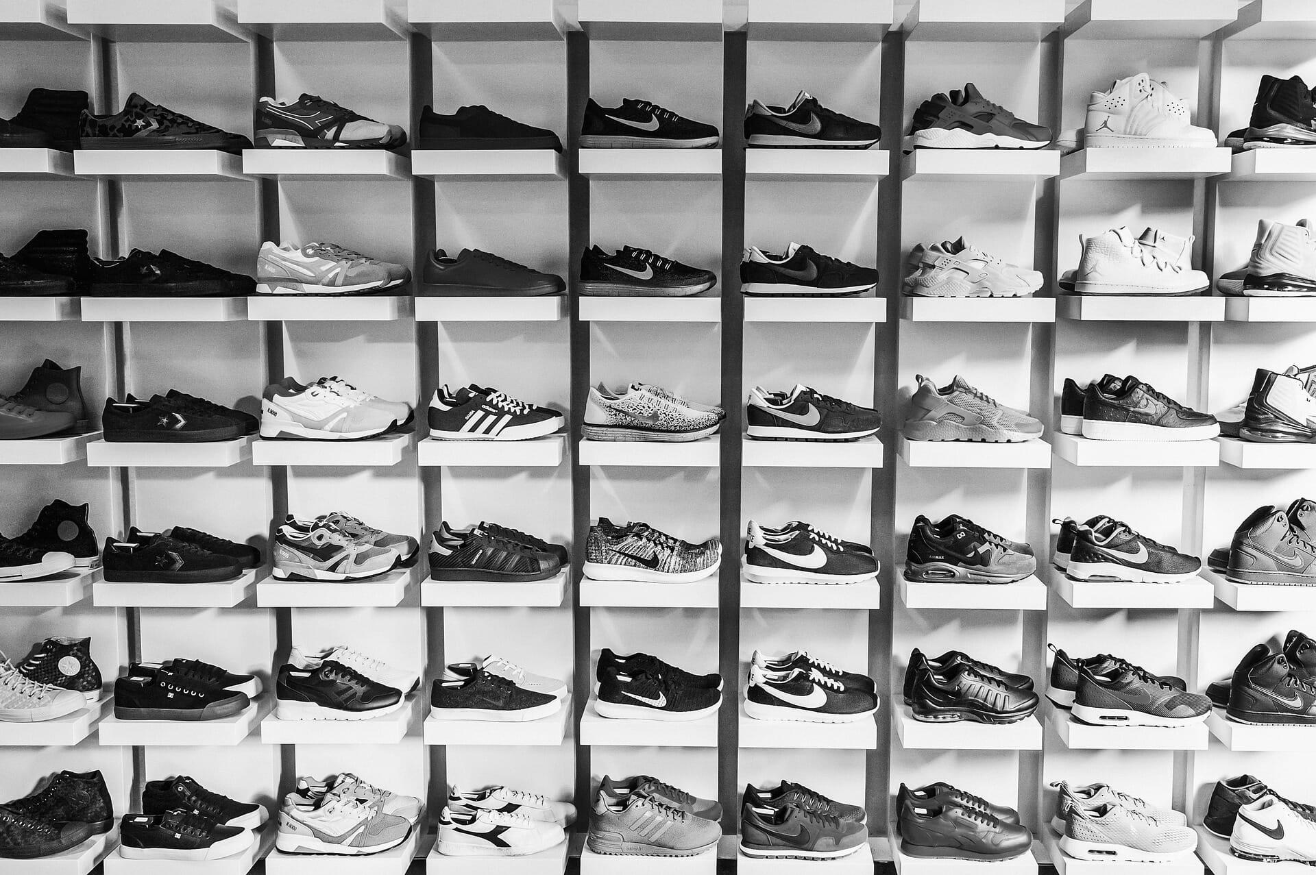 Le rotte commerciali delle scarpe false