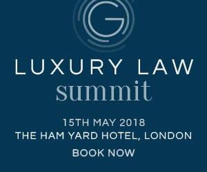 The London Luxury Law Summit 2018